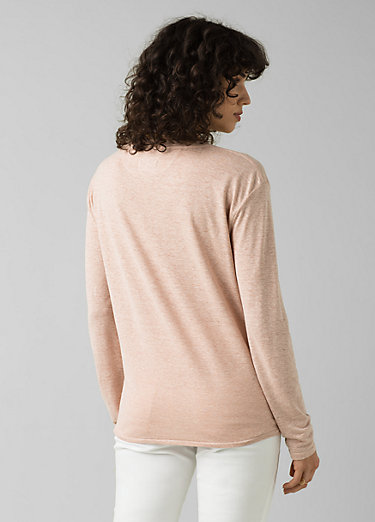 Cozy Up Long Sleeve Tee Cozy Up Long Sleeve Tee, Champagne Heather