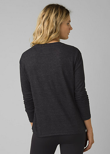 Cozy Up Long Sleeve Tee Cozy Up Long Sleeve Tee, Charcoal Heather