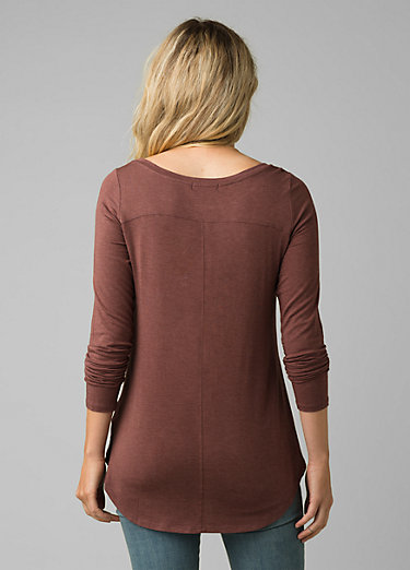 Foundation Long Sleeve Tunic Foundation Long Sleeve Tunic, Flannel Heather