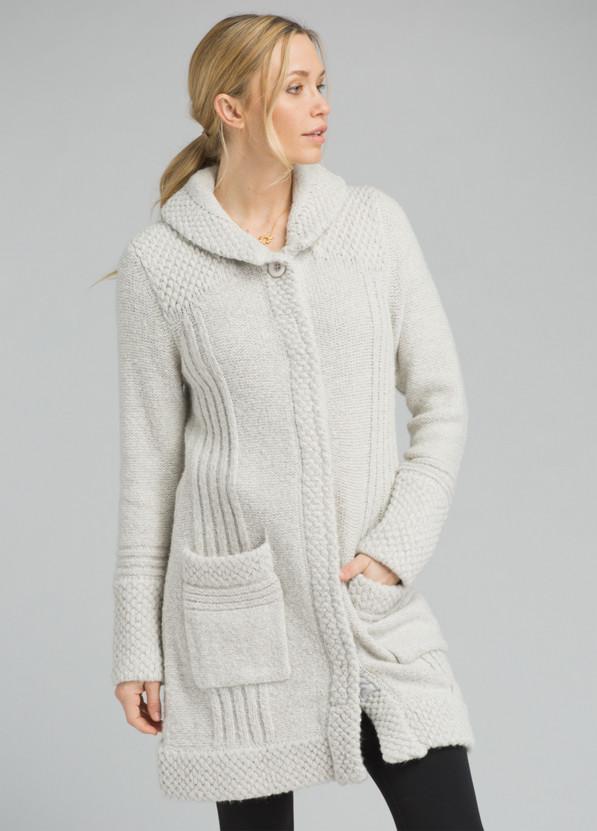 Elsin Sweater Coat Elsin Sweater Coat, Bone