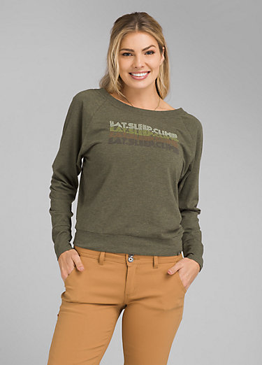 prAna Graphic Long Sleeve Tee