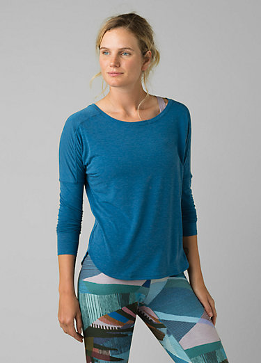 Rogue Long Sleeve Top Rogue Long Sleeve Top, Admiral Blue