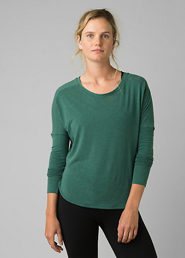 Rogue Long Sleeve Top Rogue Long Sleeve Top, Peacock