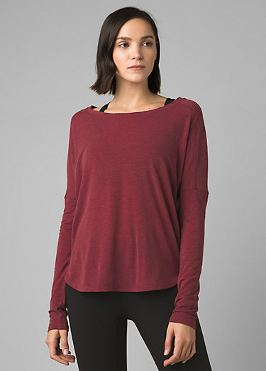 Rogue Long Sleeve Top Rogue Long Sleeve Top, Spiced Wine