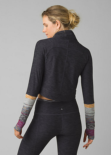 Zandra Funnel Neck Zandra Funnel Neck, Onyx Heather
