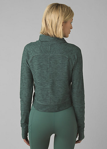 Zandra Funnel Neck Zandra Funnel Neck, Peacock Heather