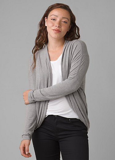 Foundation Munra Wrap Foundation Munra Wrap, Heather Grey