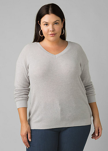 Milani V-Neck Plus Milani V-Neck Plus, Grey