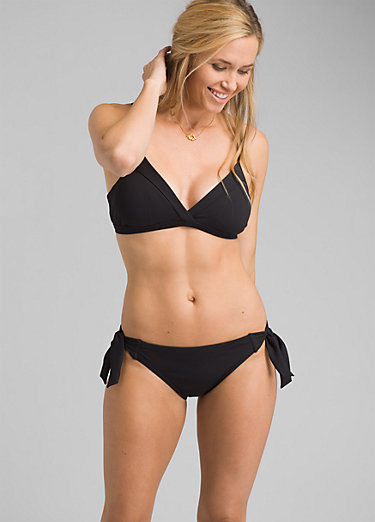 Daravy Moderate Coverage Ribbed Bikini Bottom