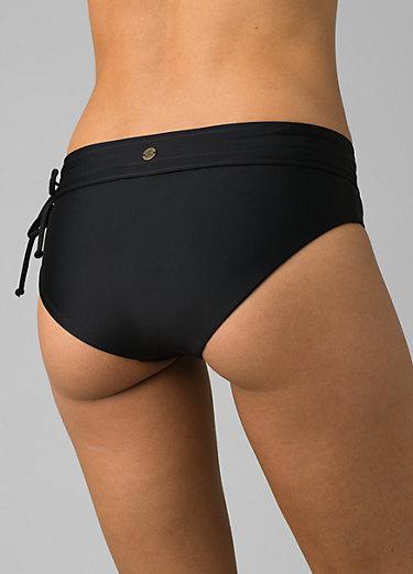 Iona Full Coverage Bikini Bottom Iona Full Coverage Bikini Bottom, Black Solid