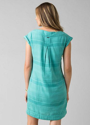 Kai Dress Kai Dress, Retro Teal Stripe