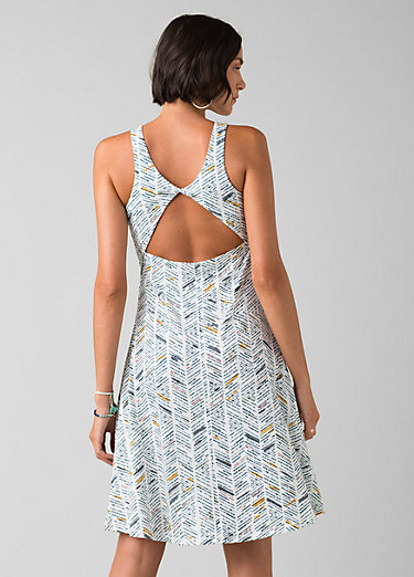 Skypath Dress Skypath Dress, White Sketch