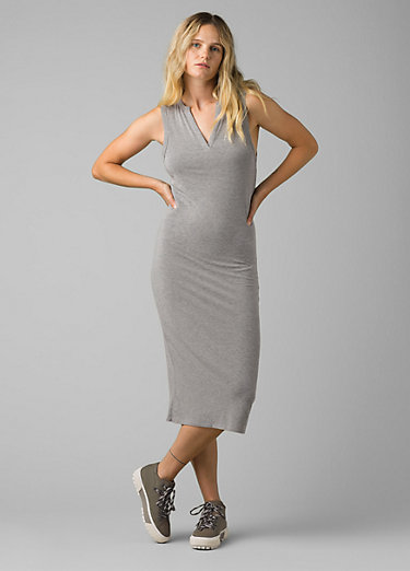 Foundation Midi Dress Foundation Midi Dress, Heather Grey