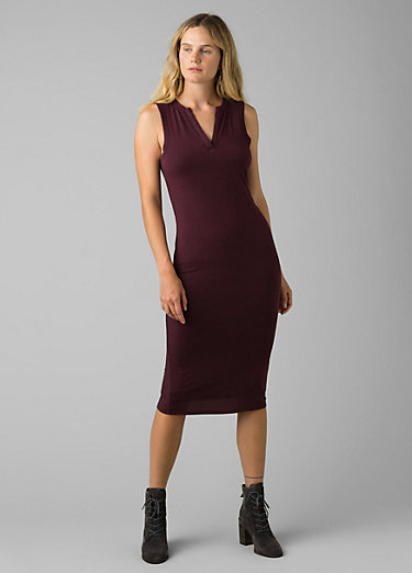 Foundation Midi Dress Foundation Midi Dress, Raisin Heather