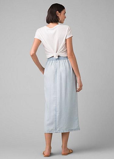 Swift Lake Midi Skirt Swift Lake Midi Skirt, Vintage Blue