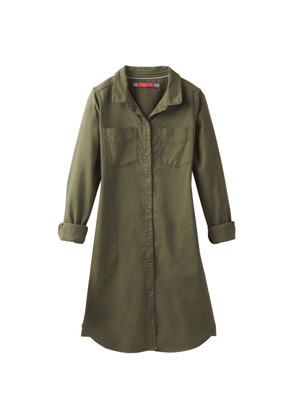 Yarrow Dress Yarrow Dress, Cargo Green