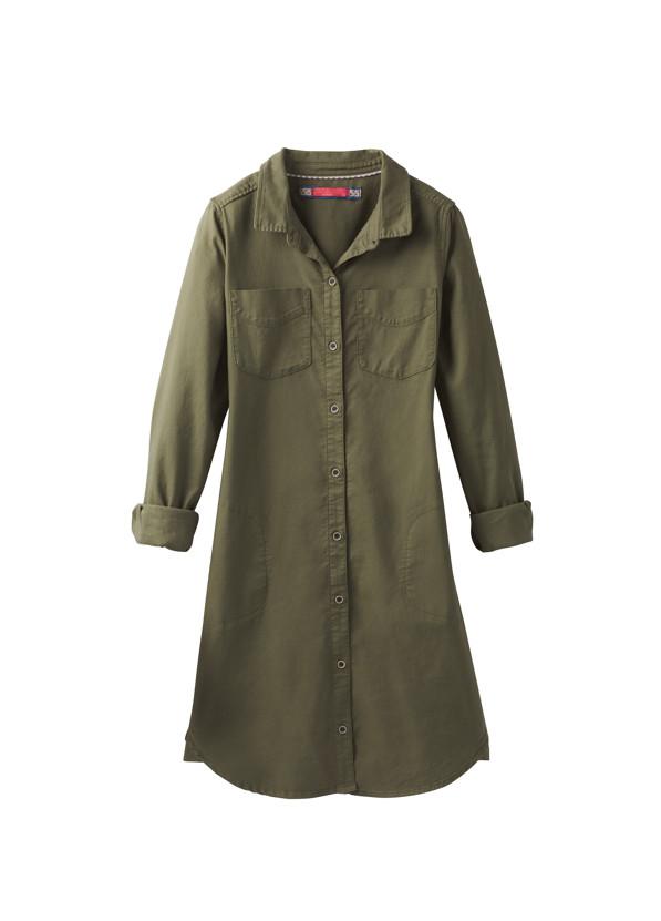 Yarrow Dress Yarrow Dress, Cargo Green