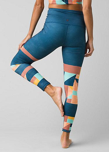 Kimble Printed 7/8 Legging Kimble Printed 7/8 Legging, Liqueur Seaglass