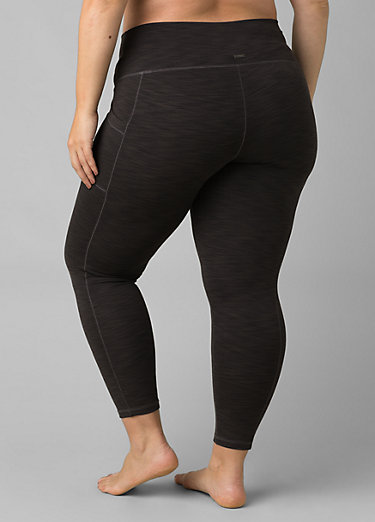 Becksa 7/8 Legging Plus Becksa 7/8 Legging Plus, Black Heather