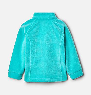 Girls' Toddler Benton Springs™ Fleece Jacket Benton Springs™ Fleece | 618 | 4T, Dolphin, Sea Ice, back