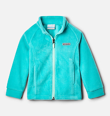 Girls' Toddler Benton Springs™ Fleece Jacket Benton Springs™ Fleece | 618 | 4T, Dolphin, Sea Ice, front