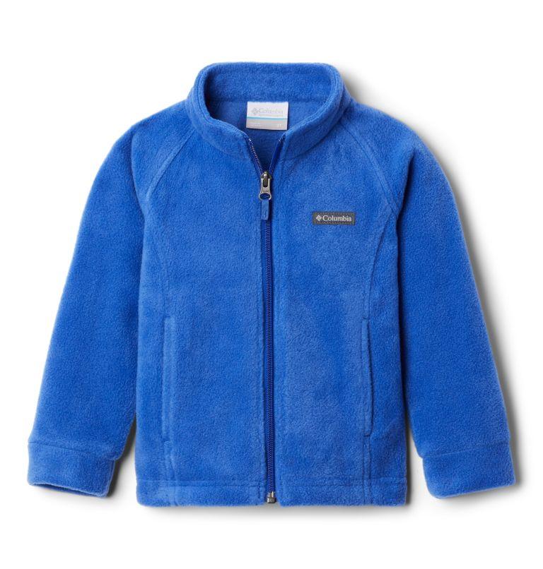 Benton Springs™ Fleece | 410 | 3T Girls' Toddler Benton Springs™ Fleece Jacket, Lapis Blue, front