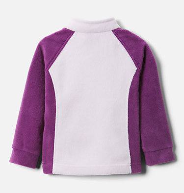 Girls' Toddler Benton Springs™ Fleece Jacket Benton Springs™ Fleece | 618 | 4T, Plum, Pale Lilac, back