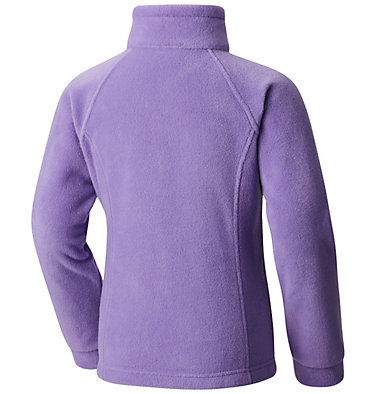 Girls' Toddler Benton Springs™ Fleece Jacket Benton Springs™ Fleece | 618 | 4T, Grape Gum, back