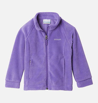Girls' Toddler Benton Springs™ Fleece Jacket Benton Springs™ Fleece | 618 | 4T, Grape Gum, front