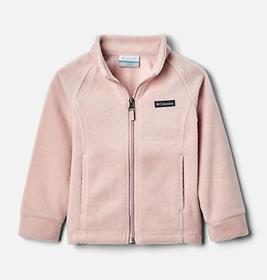 Girls' Toddler Benton Springs™ Fleece Jacket Benton Springs™ Fleece | 618 | 4T, Mineral Pink, front