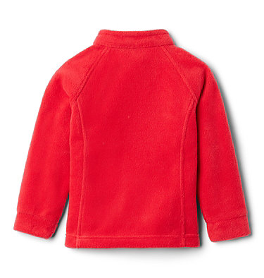 Girls' Toddler Benton Springs™ Fleece Jacket Benton Springs™ Fleece | 618 | 4T, Red Lily, back