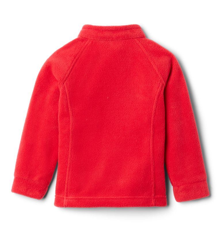 Benton Springs™ Fleece | 658 | 3T Girls' Toddler Benton Springs™ Fleece Jacket, Red Lily, back