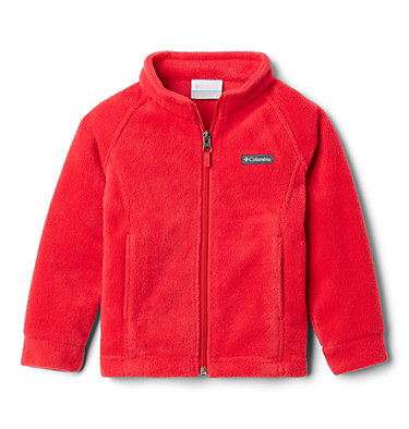 Girls' Toddler Benton Springs™ Fleece Jacket Benton Springs™ Fleece | 618 | 4T, Red Lily, front