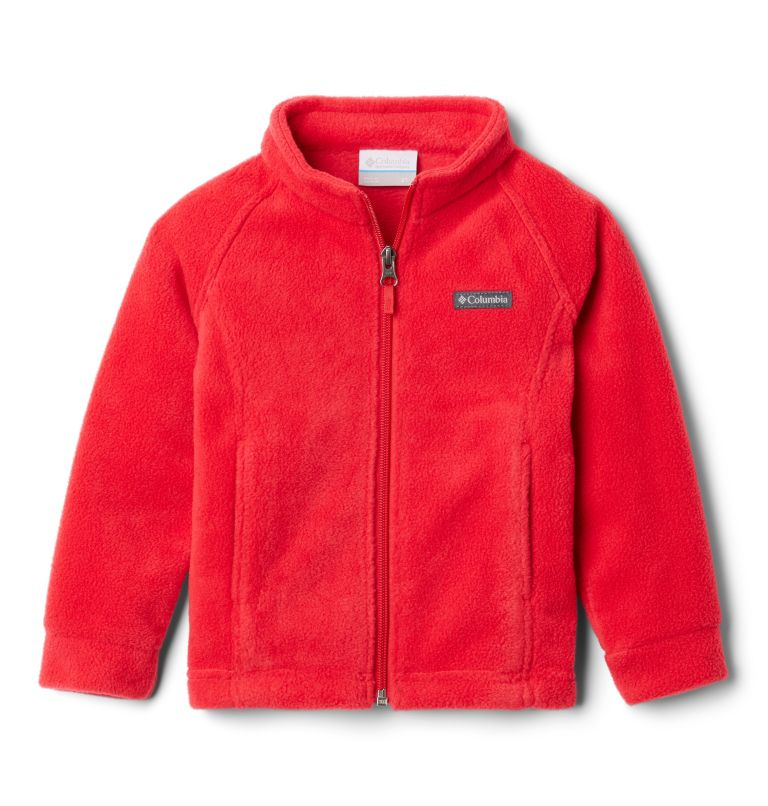 Benton Springs™ Fleece | 658 | 3T Girls' Toddler Benton Springs™ Fleece Jacket, Red Lily, front