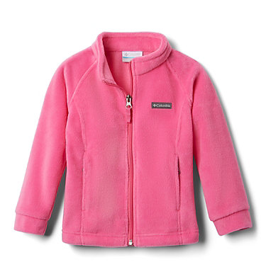 Girls' Toddler Benton Springs™ Fleece Jacket Benton Springs™ Fleece | 618 | 4T, Pink Ice, front