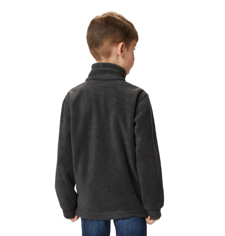 Steens Mt™ II Fleece | 008 | XL Boys' Steens Mountain™ II Fleece Jacket, Charcoal Heather, a3