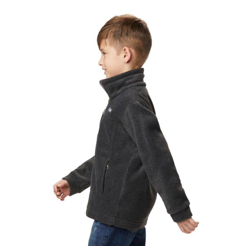 Steens Mt™ II Fleece | 008 | XL Boys' Steens Mountain™ II Fleece Jacket, Charcoal Heather, a4