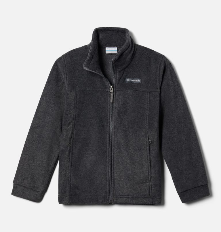 Steens Mt™ II Fleece | 008 | XL Boys' Steens Mountain™ II Fleece Jacket, Charcoal Heather, front