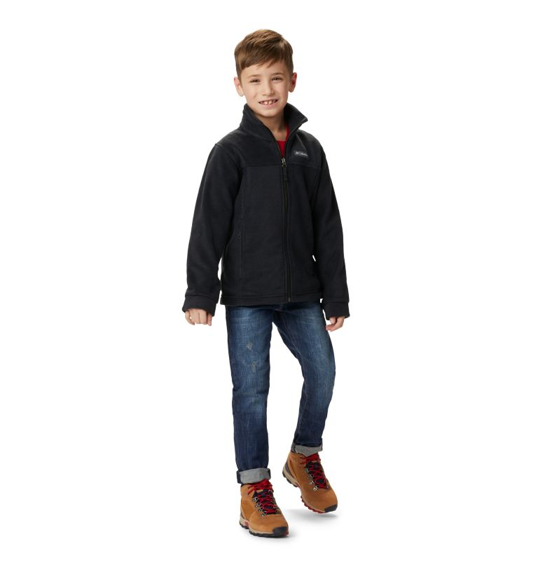 Steens Mt™ II Fleece | 010 | M Boys' Steens Mountain™ II Fleece Jacket, Black, a4