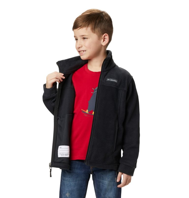 Steens Mt™ II Fleece | 010 | M Boys' Steens Mountain™ II Fleece Jacket, Black, a5