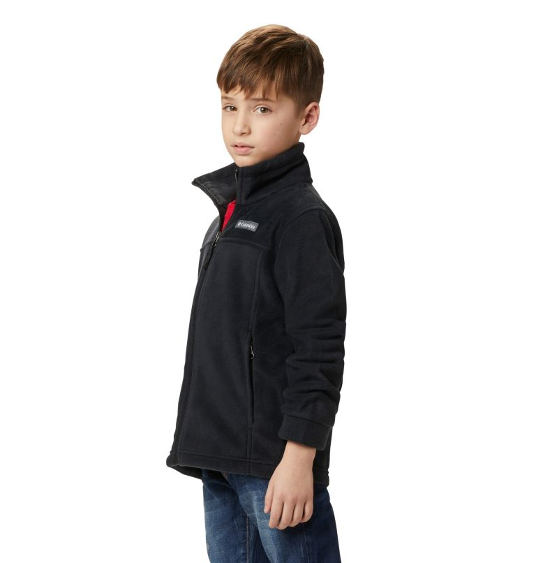 Steens Mt™ II Fleece | 010 | M Boys' Steens Mountain™ II Fleece Jacket, Black, a6