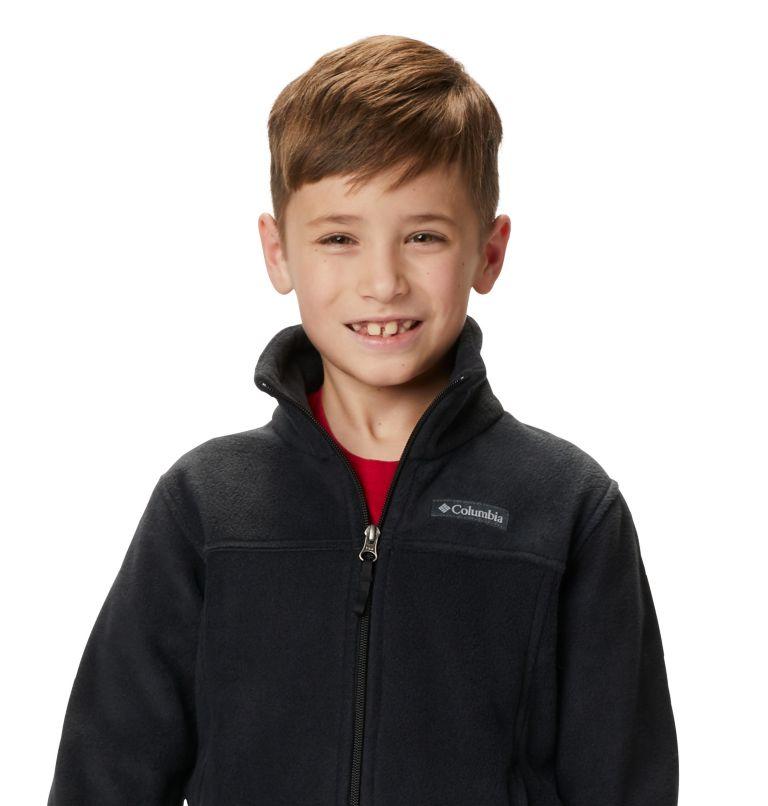 Steens Mt™ II Fleece | 010 | XS Boys' Steens Mountain™ II Fleece Jacket, Black, a7