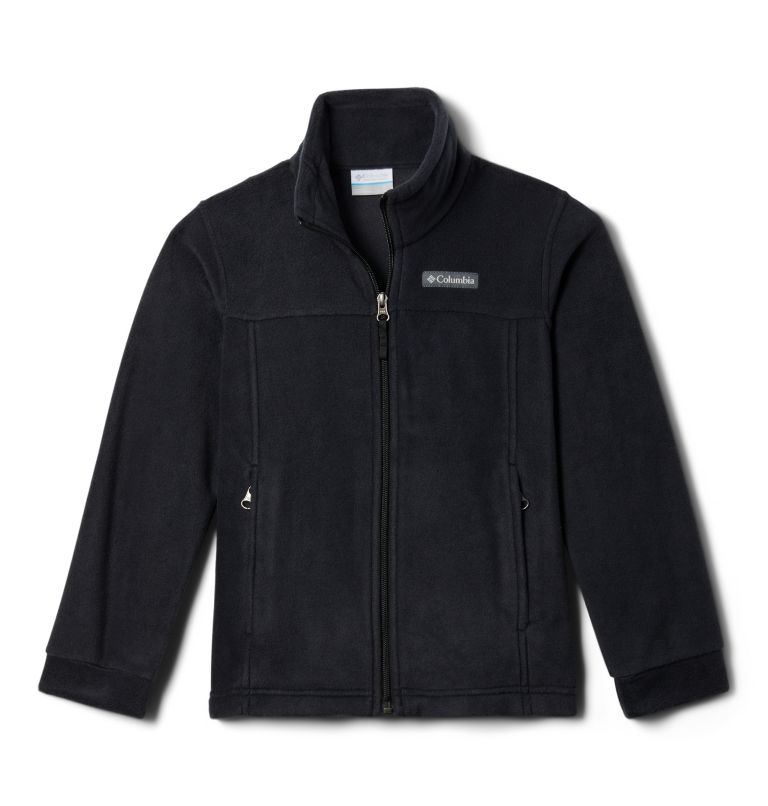 Steens Mt™ II Fleece | 010 | M Boys' Steens Mountain™ II Fleece Jacket, Black, back