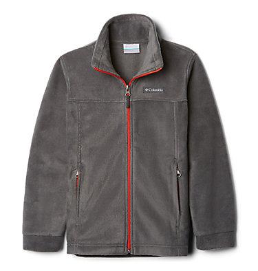 Boys' Steens Mountain™ II Fleece Jacket Steens Mt™ II Fleece | 030 | L, Grill, 3/4 front