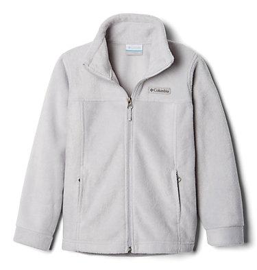 Boys' Steens Mountain™ II Fleece Jacket Steens Mt™ II Fleece | 030 | L, Slate Grey, 3/4 front