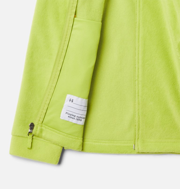 Steens Mt™ II Fleece | 386 | S Boys' Steens Mountain™ II Fleece Jacket, Bright Chartreuse, a1