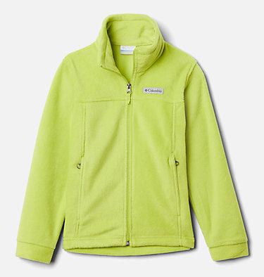 Boys' Steens Mountain™ II Fleece Jacket Steens Mt™ II Fleece | 030 | L, Bright Chartreuse, front