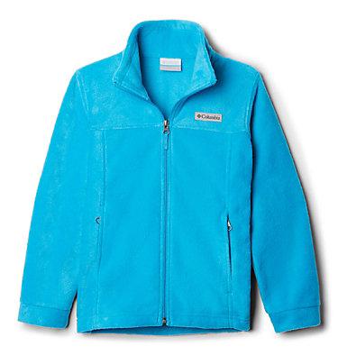 Boys' Steens Mountain™ II Fleece Jacket Steens Mt™ II Fleece | 030 | L, Ocean Blue, 3/4 front