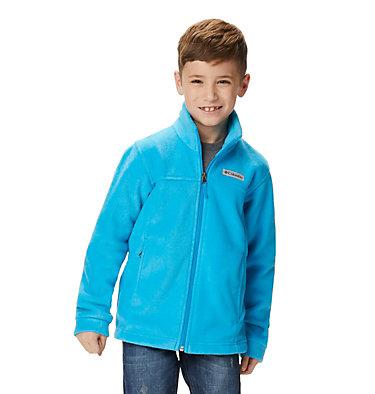 Boys' Steens Mountain™ II Fleece Jacket Steens Mt™ II Fleece | 030 | L, Ocean Blue, front