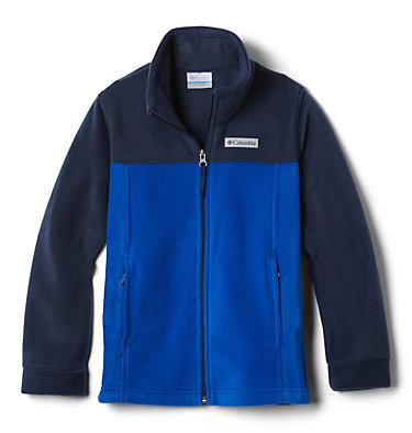 Boys' Steens Mountain™ II Fleece Jacket Steens Mt™ II Fleece | 030 | L, Azul, Collegiate Navy, front
